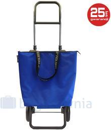 ROLSER Wózek na zakupy Logic RG Mini Bag MF Azul Niebieski - niebieski