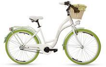 """Goetze, Rower miejski, Colours 3B 26"""", biało-zielony"""