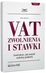 INFOR VAT zwolnienia i stawki Instrukcje, jak ustalić należny podatek.