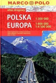 Daunpol praca zbiorowa Polska. Europa. Atlas drogowy Marco Polo