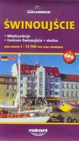 Cartomedia Świnoujście Międzyzdroje - plan miasta (skala: 1:13 700) - CartoMedia