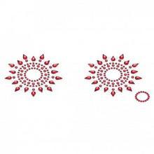 Petits Joujoux Biżuteria na piersi - Gloria Red Czerwona PE006C