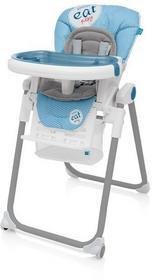 Baby Design Lolly krzesełko do karmienia 03 niebieski wysyłka 24h + PREZENT Enova34021