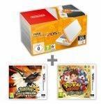 Nintendo New 2DS XL White and Orange + Pokémon US + YW2