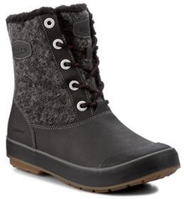Keen Śniegowce Elsa Boot Wp 1017954 Black Wool