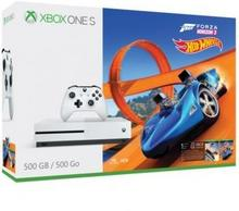 Microsoft Xbox One S 500 GB Biała + Forza Horizon 3 + Hot Wheels