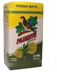 Pajarito Jamba Herbata Yerba Mate Menta Limon 500 g