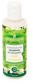 Orientana Ajurwedyjski szampon do włosów jaśmin i migdałecznik 210 ml 5902596416720