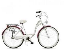 Dawstar City Vip Bike 3 Nexus 2017 biało-różowy