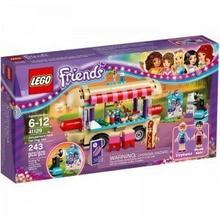 LEGO Friends Park Rozrywki - Stanowisko z Hot Dogami 41129