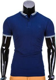Ombre Clothing Polo S843 - GRANATOWE