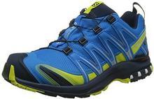 Salomon Buty do biegania w terenie mężczyźni, kolor: wielokolorowa, rozmiar: 47 1/3 B074QVCT4S