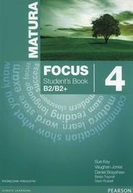 PEARSON Matura Focus 4 Students Book wieloletni + CD - Kay Sue, Jones Vaughan, Daniel Brayshaw