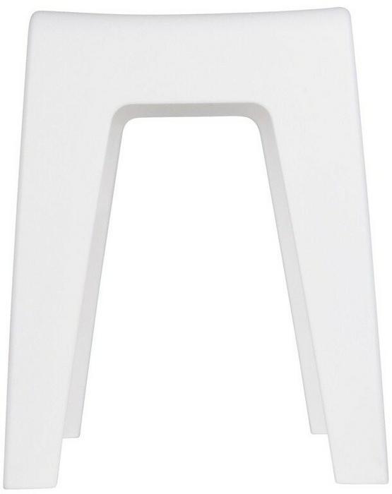 Wenko Stołek Do łazienki Taboret Biały 38x47x32 Cm