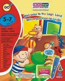 Croco Learn Crocopen, książka interaktywna Witamy w Krainie Logiki