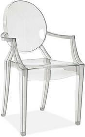 Signal Krzesło Luis transparentne