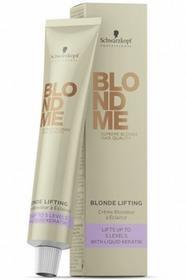 Schwarzkopf Professional PROFESSIONAL BLONDME Blonde Lifting Rozjaśniająca baza w kremie do włosów blond 60ml 0000050722