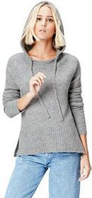 FIND Find damski sweter z kapturem -  szary B073XP7YGZ