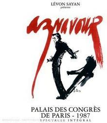 Charles Aznavour Palais Des Congres 1987 DVD)