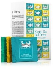Kusmi Herbaty Kusmi Full Detox w zestawie 24 torebki FULL24E