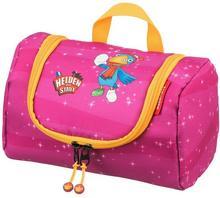 Travelite Bohaterowie Miasta kosmetyczka podróżna dla dziecka z haczykiem / różowa 81682-17