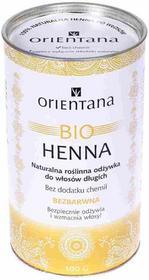Orientana Bio Henna, naturalna roślinna odżywka do włosów, Bezbarwna, 100 g