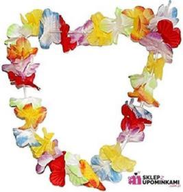 Naszyjnik hawajski Girlanda kwiaty 0603