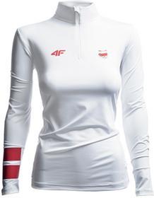 4F Bluza funkcyjna damska Polska Pyeongchang 2018 TSDLF900 biały [S4Z17-TSDLF900] TSDLF900 biały