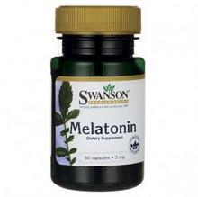 Swanson Melatonina 3mg 60kaps