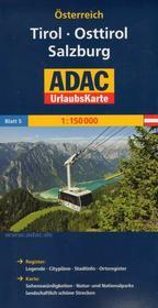 ADAC Tirol, Osttirol, Salzburg, 1:150 000