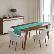 Viline Bieżnik dekoracyjny na stół - Turkusowa Islandia 1