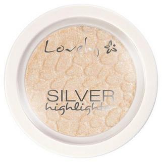 Lovely Lovely Silver Highlighter Rozświetlacz do Twarzy LOV-7274