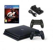 Sony PlayStation 4 Pro 1TB Czarny + Gran Turismo Sport + 2xDualShock