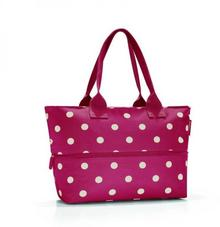 Reisenthel Torba Shopper e1 ruby dots - fioletowy