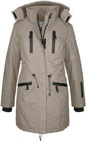 Bonprix Długa kurtka funkcyjna outdoorowa brunatny