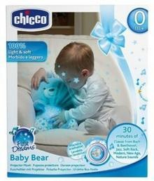 Chicco Miś z projektorem niebieski