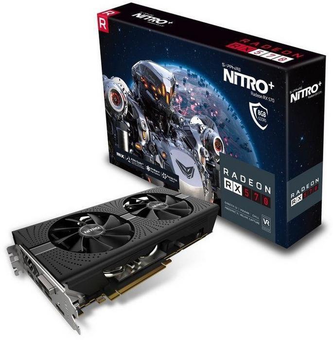 Sapphire Radeon RX 570 Nitro+(11266-09-20G)