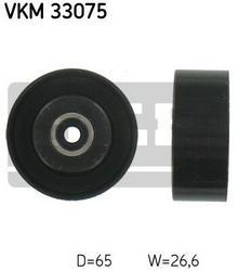 SKF rolka kierunkowa / prowadząca, pasek klinowy zębaty VKM 33075