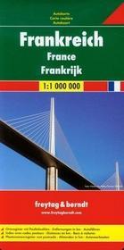 Freytag&berndt Francja mapa 1:1 000 000 Freytag & Berndt - Freytag & Berndt