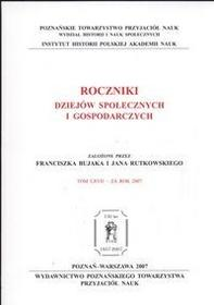 Poznańskie Towarzystwo Przyjaciół NaukRoczniki Dziejów Społecznych i Gospodarczych Bujak Franciszek, Rutkowski Jan