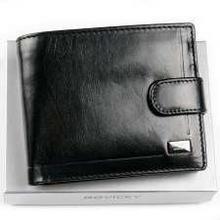 Rovicky Czarny portfel męski skórzany CPR 022 ASL CPR 022 ASL