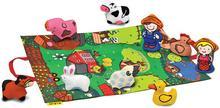 K's Kids K's Kids PRZENOŚNA MATA FARMA z figurkami zwierząt i farmerów KA10743 38384