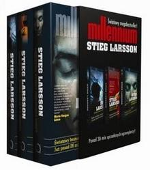 Czarna Owca Larsson Stieg Trylogia Millennium. Pakiet 3 książek