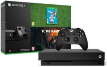 Microsoft Xbox One X 1TB + FIFA 19 + Shadow of the Tomb Raider