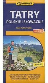 Compass Tatry Polskie i Słowackie mapa 1:50 000 Compass
