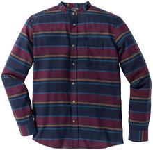 Bonprix Koszula flanelowa z długim rękawem Slim Fit w kolorowe paski