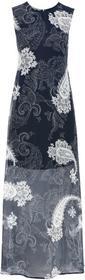 """Bonprix Długa sukienka szyfonowa ciemnoniebieski \""""""""paisley"""""""""""