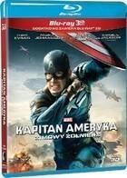 Kapitan Ameryka Zimowy żołnierz 3D Blu-Ray + Blu-Ray 3D