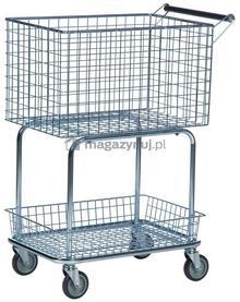 Kongamek Uniwersalny Wózek. Wózek sklepowy. Wym: 690x410x950mm