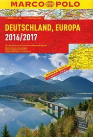 Marco Polo Deutschland, Europa, 1:300 000 - 1:4 500 000
